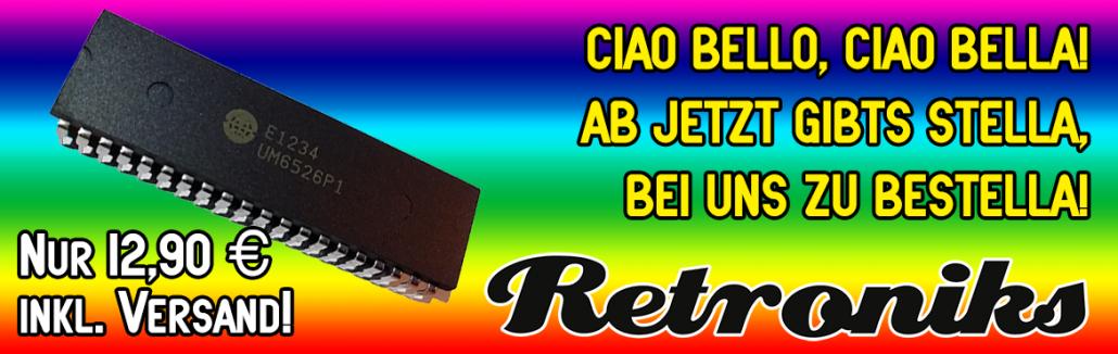 Atari 2600 TIA - Stella - Brandnew